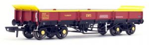 Dapol 4F-043-007 Turbot Bogie Ballast Wagon, EWS Maroon (Banded) , DB978279 [NOT YET RELEASED]